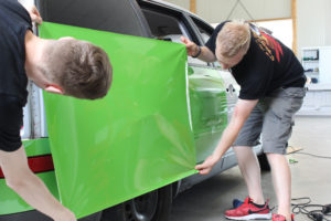 car wrapping schulung